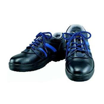 おたふく手袋 安全シューズ静電短靴タイプ JW-753 紐靴 JSAA規格 プロテクティブスニーカー