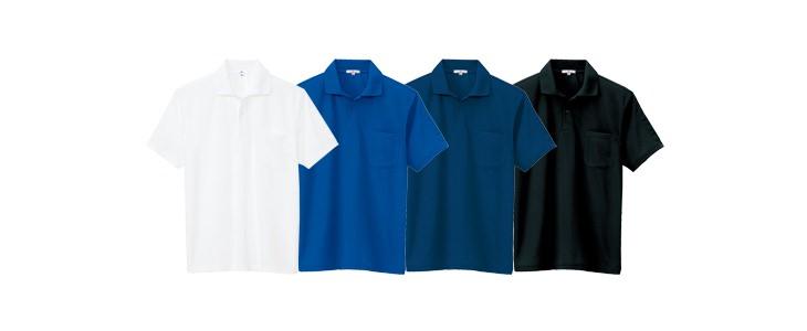 吸汗速乾(クールコンフォート)ペン差し付半袖ポロシャツ(男女兼用)