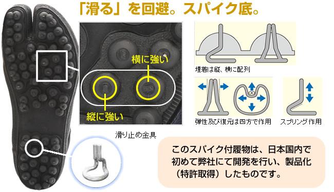 #112 防水ワンタッチ先丸 NS
